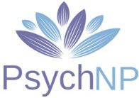 blue and purple logo of PsychNp